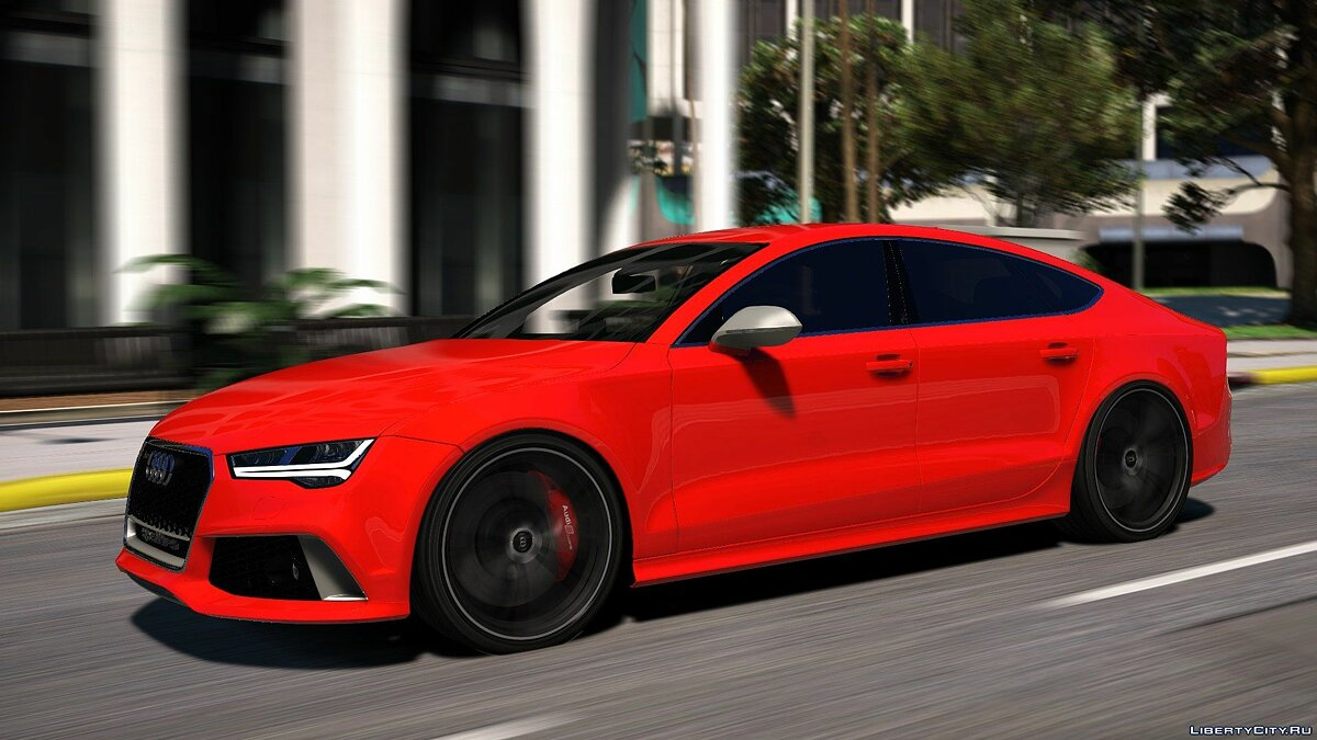 2015 Audi RS7 Sportback [Add-On / Replace] 1.2 для GTA 5 - скриншот #10