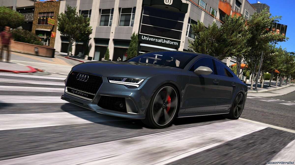 2015 Audi RS7 Sportback [Add-On / Replace] 1.2 для GTA 5 - скриншот #11