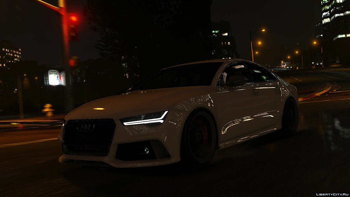 2015 Audi RS7 Sportback [Add-On / Replace] 1.2 для GTA 5 - скриншот #12