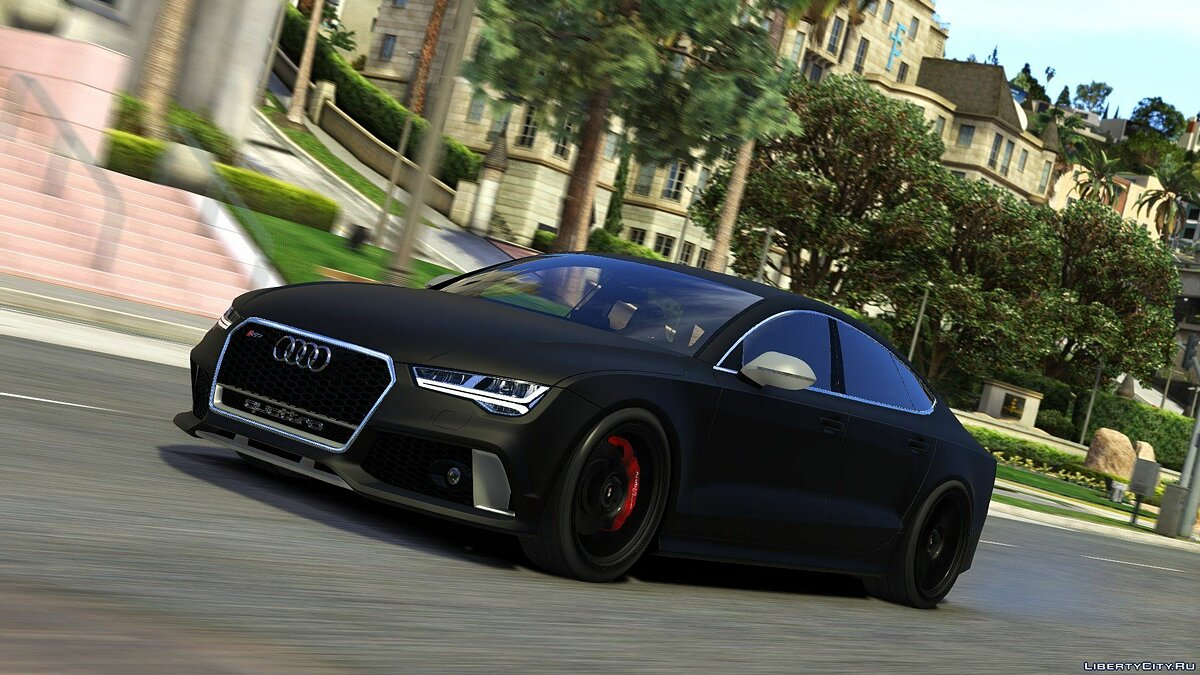 2015 Audi RS7 Sportback [Add-On / Replace] 1.2 для GTA 5 - скриншот #13