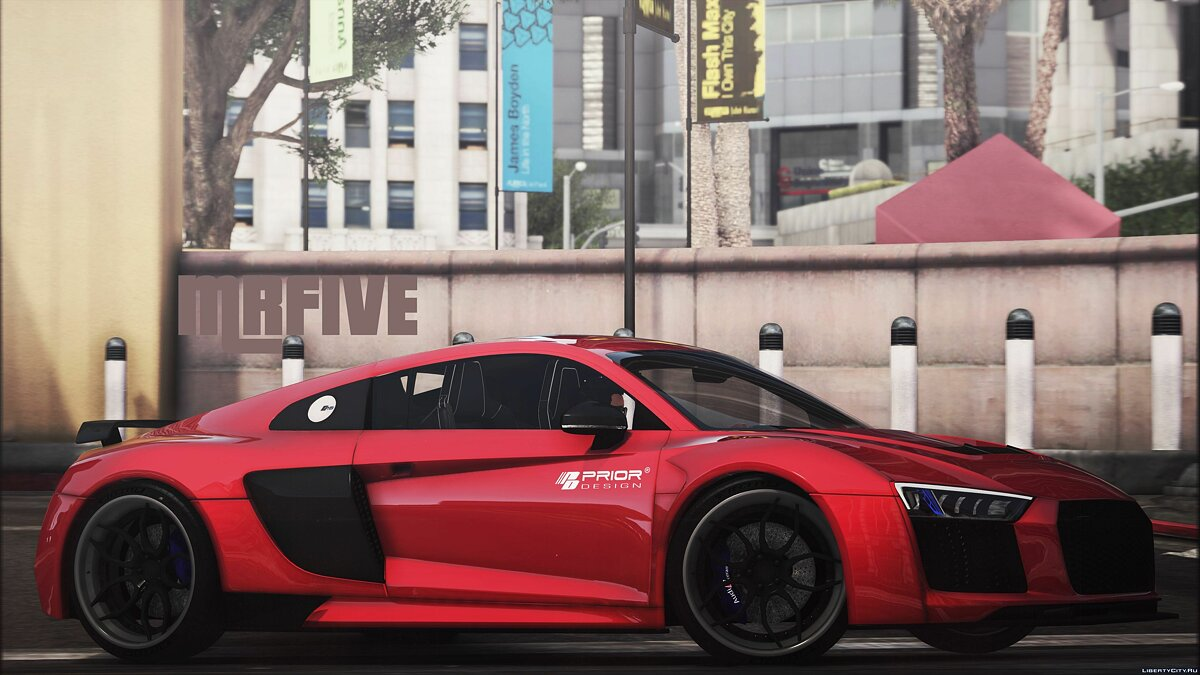 Машина Audi Audi R8 Prior Edition [Add-On] 1.0 для GTA 5