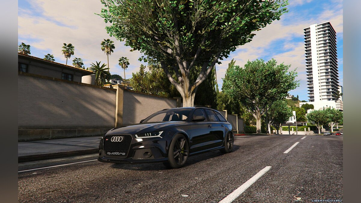 2015 Audi RS6 C7 [Add-On] (ABT Tuning) 1.1 для GTA 5 - скриншот #2
