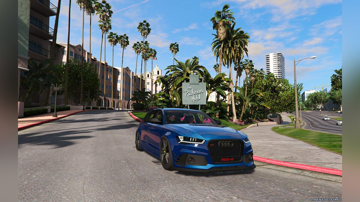 2015 Audi RS6 C7 [Add-On] (ABT Tuning) 1.1 для GTA 5