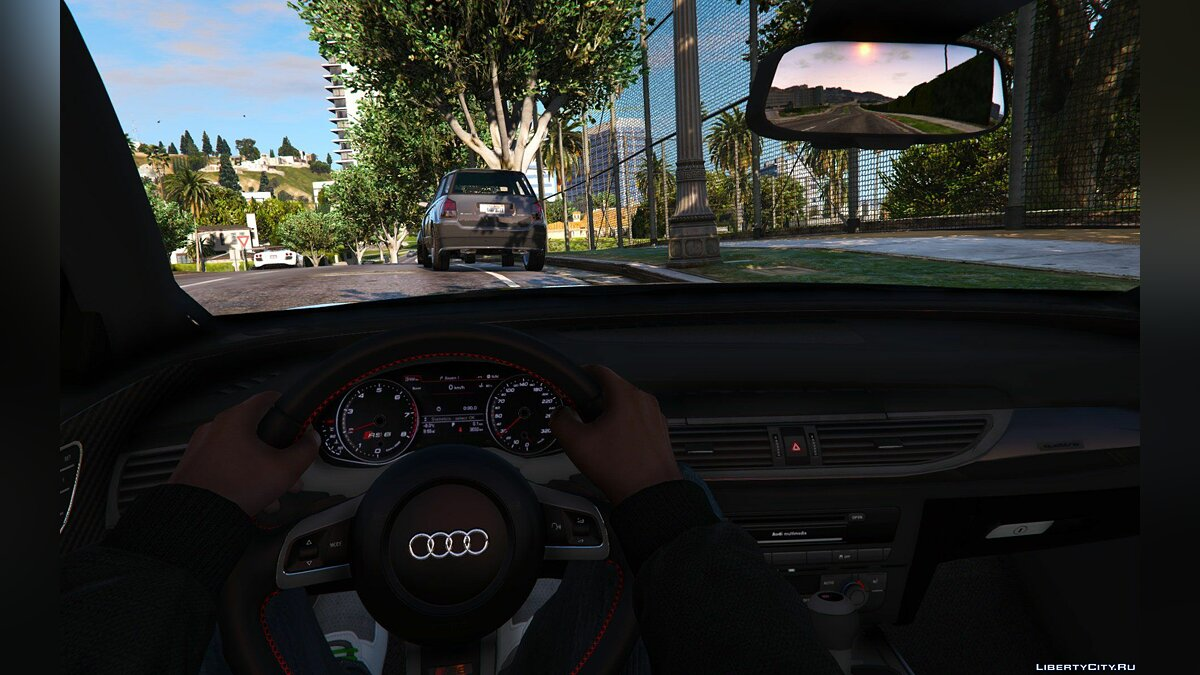 2015 Audi RS6 C7 [Add-On] (ABT Tuning) 1.1 для GTA 5 - скриншот #6