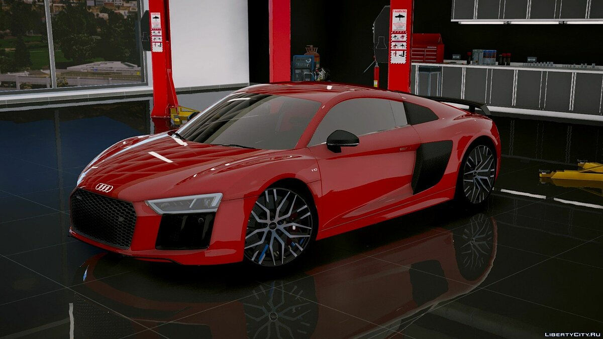 Audi R8 V10 Plus 2017[Add-On/Replace|Tuning] 1.6 для GTA 5 - скриншот #7