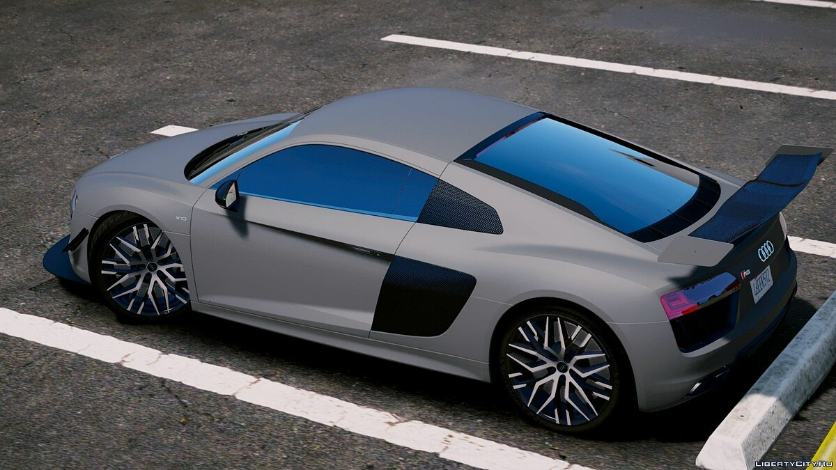 Audi R8 V10 Plus 2017[Add-On/Replace|Tuning] 1.6 для GTA 5 - скриншот #5