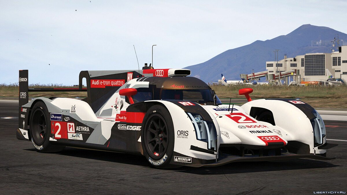 2014 Audi R18 E-tron Quattro [Add-On / Replace | Liveries | Template] 1.0 для GTA 5 - скриншот #3