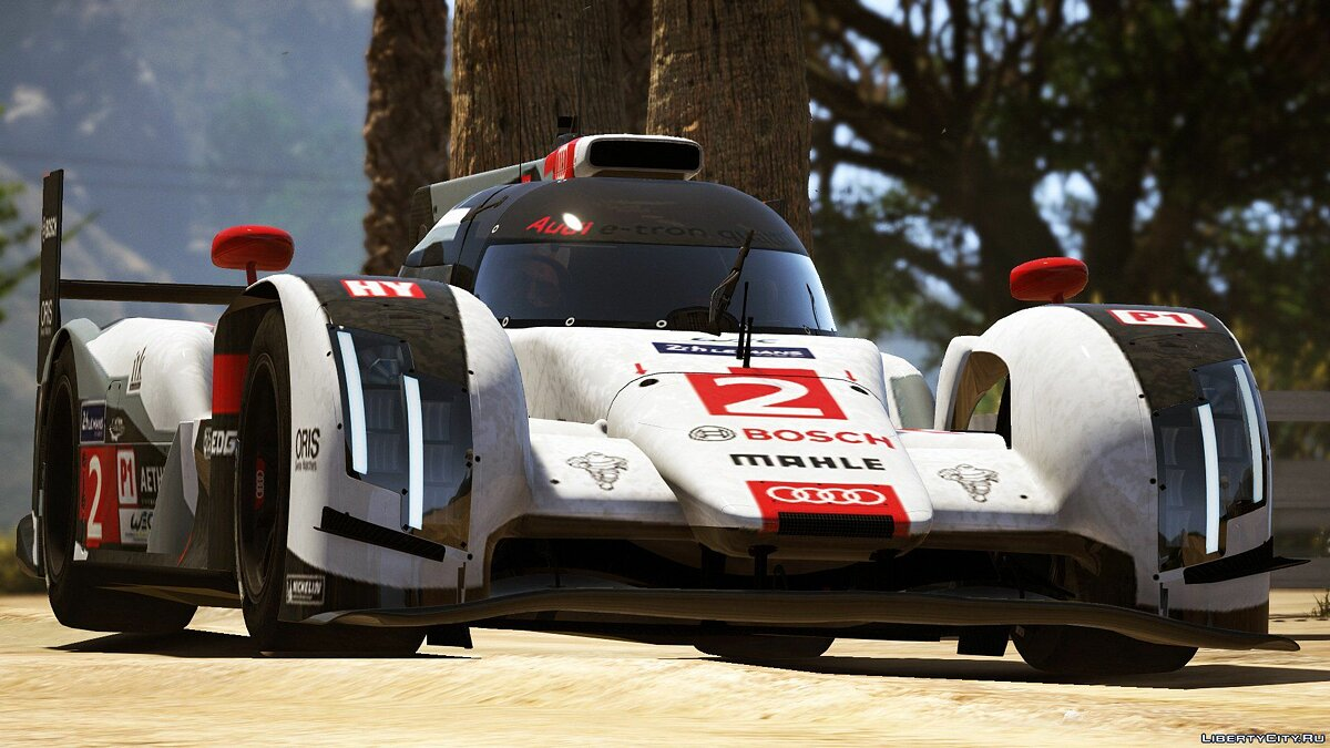 2014 Audi R18 E-tron Quattro [Add-On / Replace | Liveries | Template] 1.0 для GTA 5