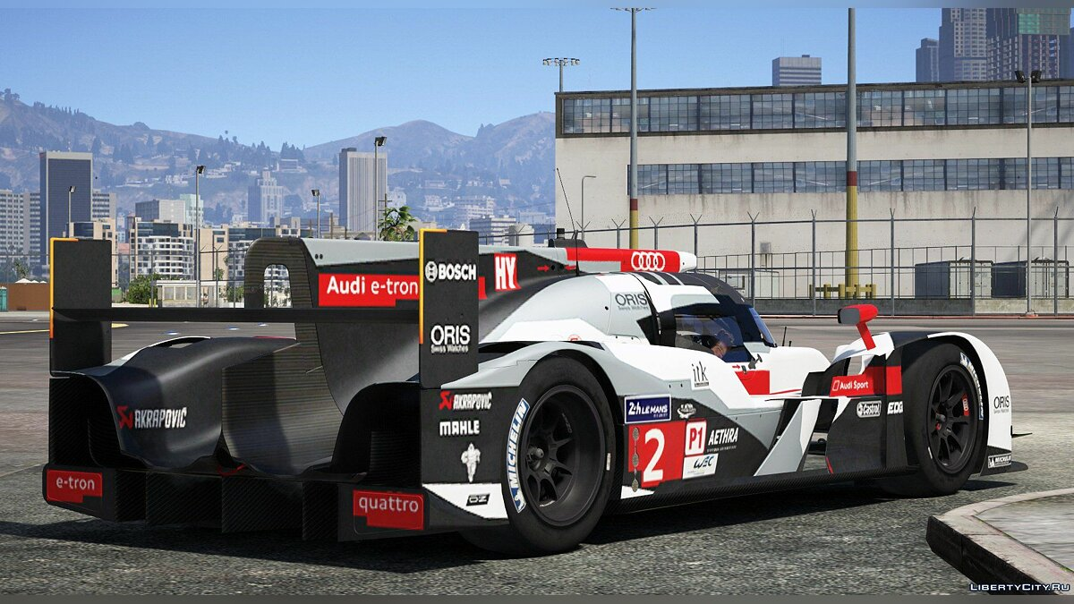 2014 Audi R18 E-tron Quattro [Add-On / Replace | Liveries | Template] 1.0 для GTA 5 - скриншот #6