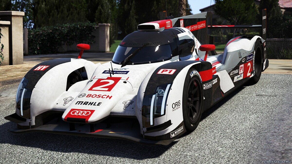 2014 Audi R18 E-tron Quattro [Add-On / Replace | Liveries | Template] 1.0 для GTA 5 - скриншот #4