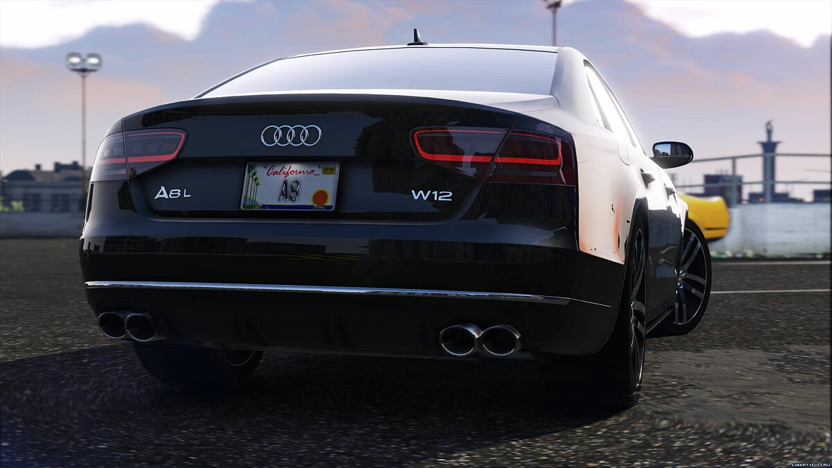 2012 Audi A8L W12 [Add-On / Replace] 2.2 для GTA 5 - скриншот #2