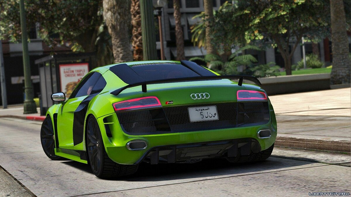 2013 Audi R8 V10 & PPI Razor Tuning [Add-On] для GTA 5 - скриншот #5