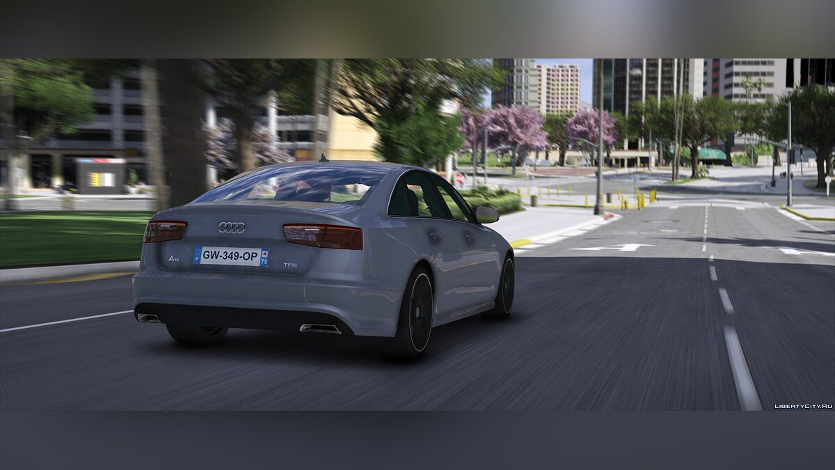 Машина Audi Audi A6 2015 [Add-on/Replace] 1.0 для GTA 5