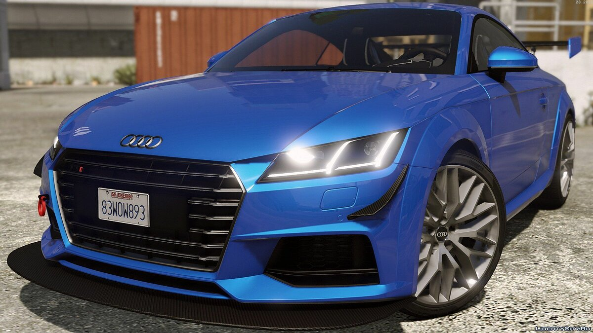 Машина Audi Audi TTS 2015 [Add-On / Replace | Template | Tuning] для GTA 5