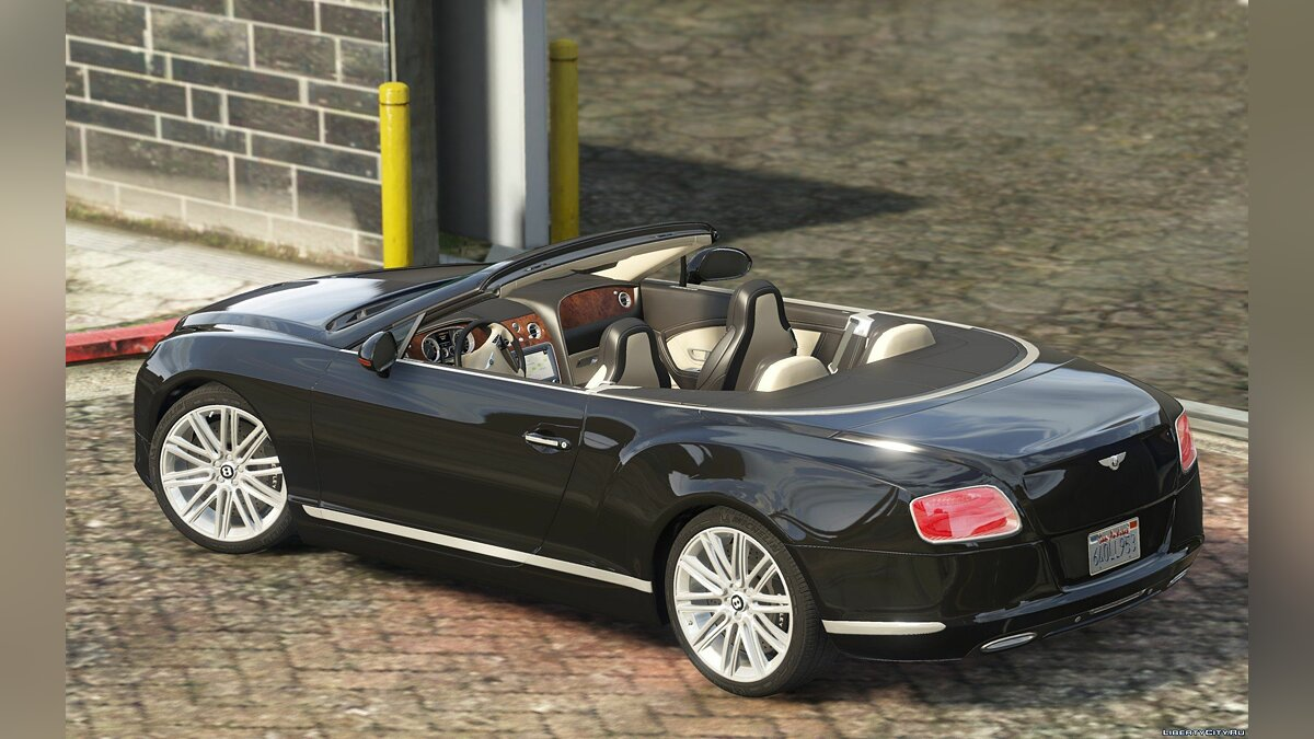 2014 Bentley Continental GT для GTA 5