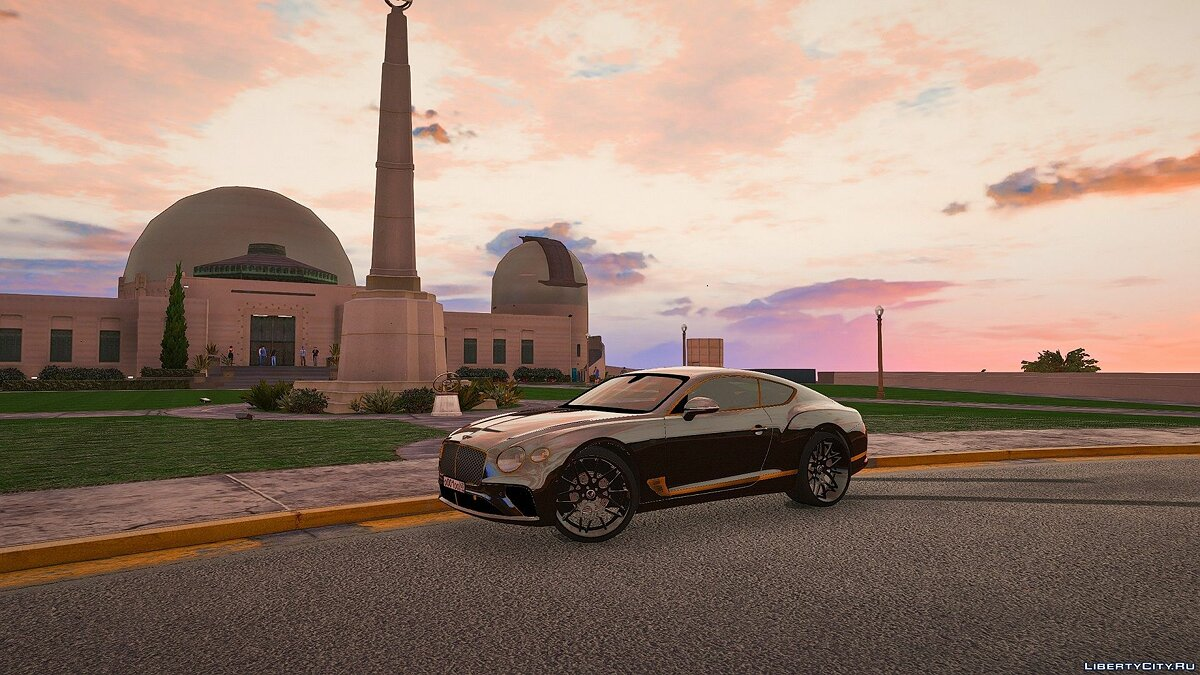 Машина Bentley 2018 Bentley Continental 0.1 для GTA 5