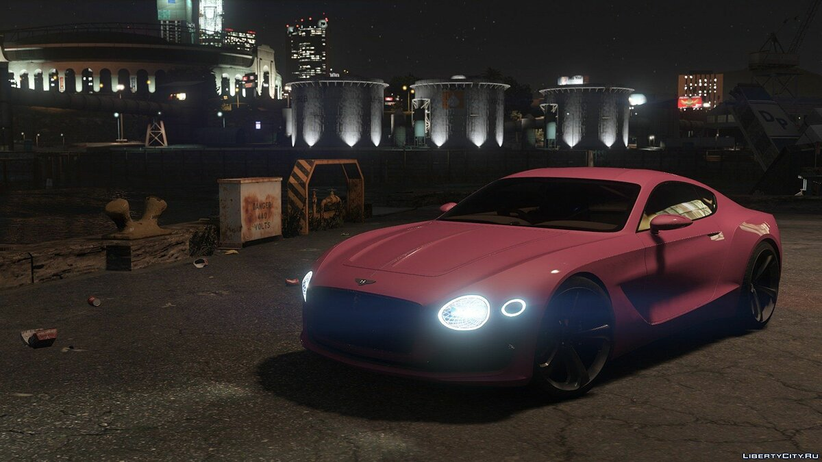Машина Bentley Bentley EXP-10 Speed 6 2.1 для GTA 5