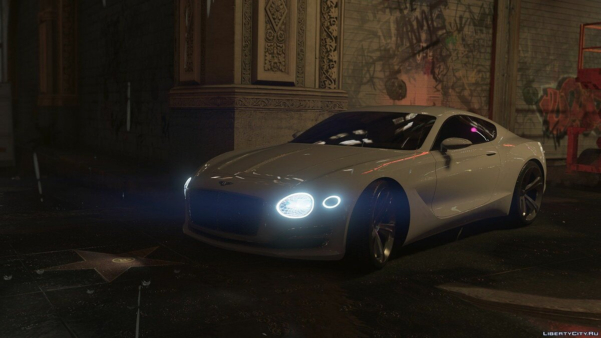 Машина Bentley Bentley EXP-10 Speed 6 2.0 для GTA 5