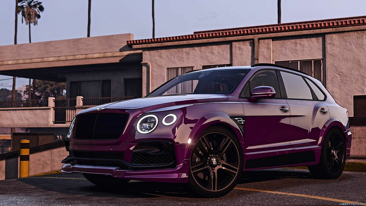 Машина Bentley 2017 Bentley Bentayga StarTech [Add-On | Tuning | Analog-Digital Dials] для GTA 5