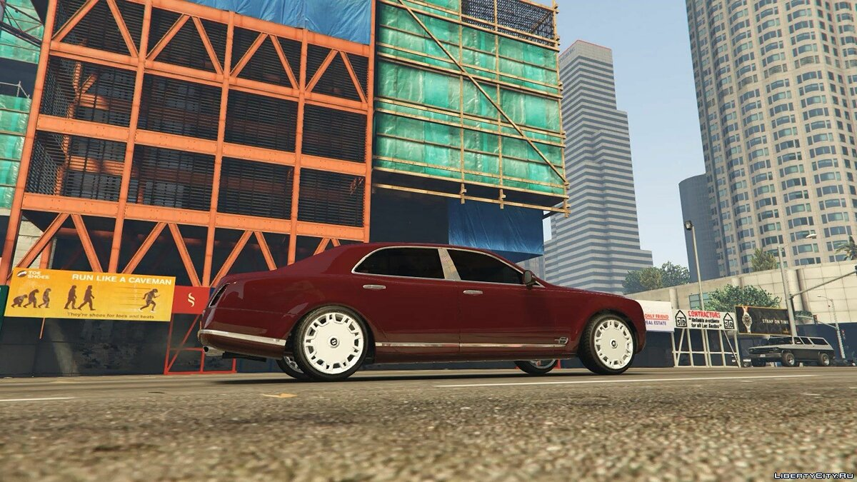 Bentley Mulsanne 2010 Admiral Edition 1.1 для GTA 5 - скриншот #2
