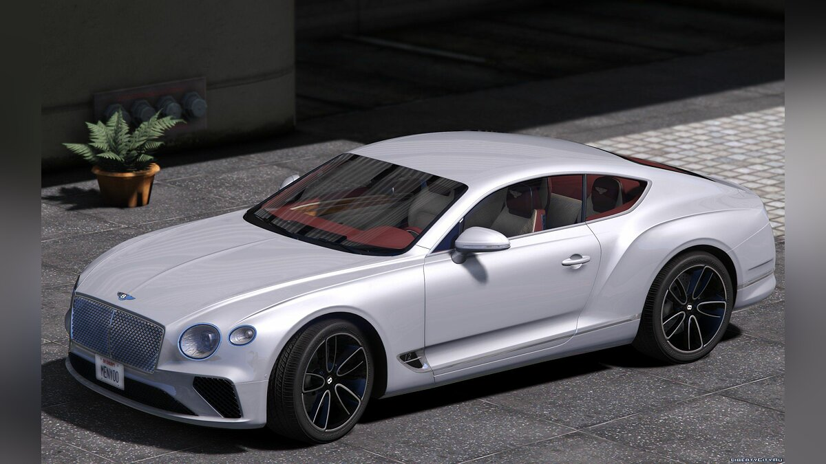Машина Bentley Bentley Continental GT 2018 1.0 [Replace/Addon] 1.0 для GTA 5