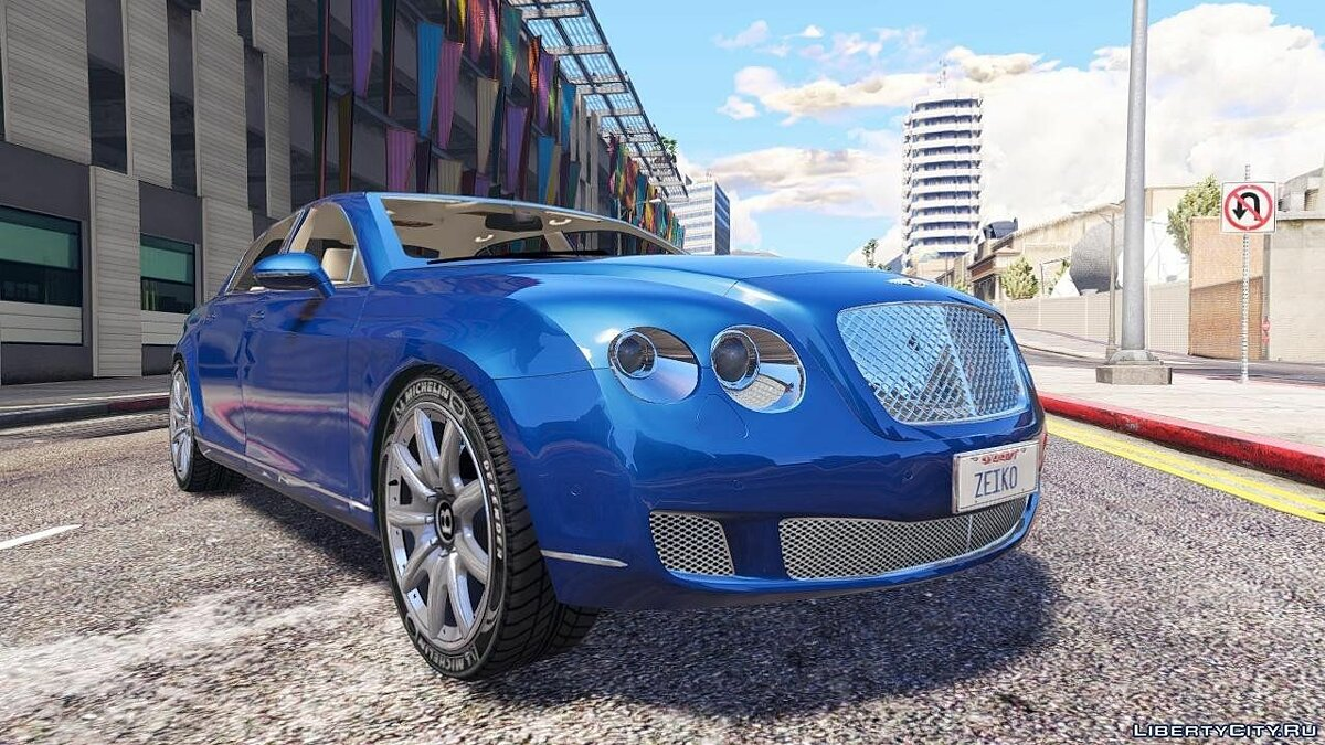 2010 Bentley Continental Flying Spur [Add-On / Replace] 1.1 для GTA 5
