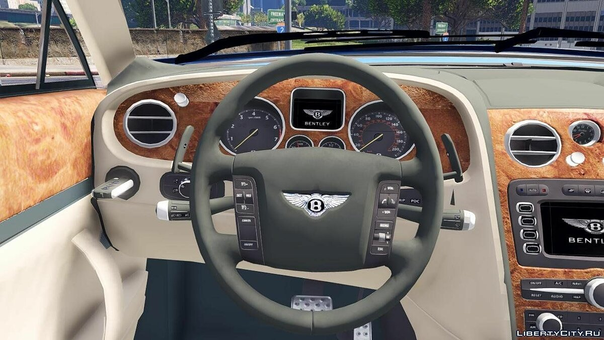 2010 Bentley Continental Flying Spur [Add-On / Replace] 1.1 для GTA 5 - скриншот #5