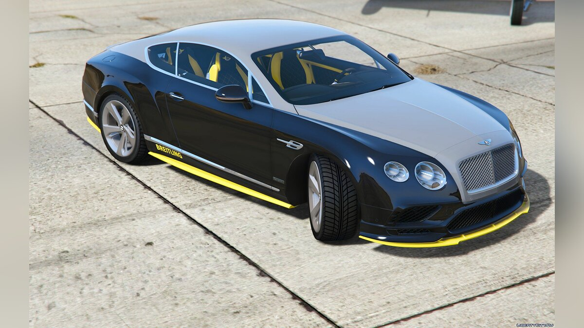 Bentley Continental GT Breitling Jet Team [replace/addon] 1.0 для GTA 5