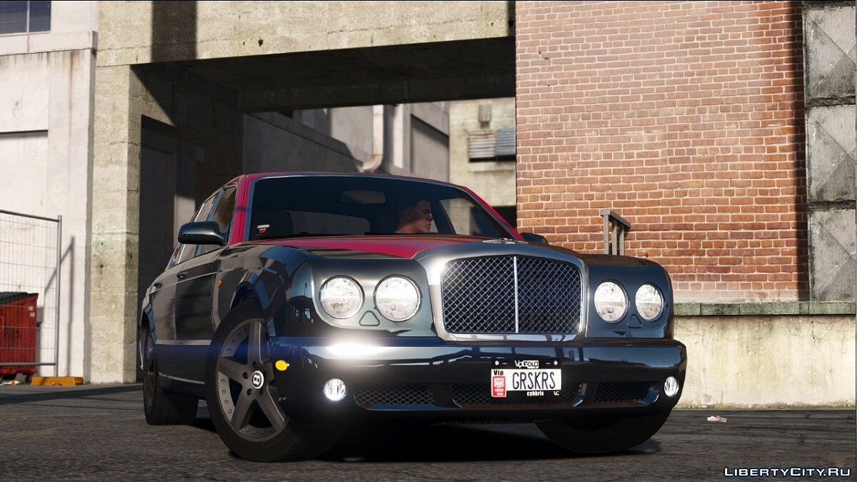 Машина Bentley Bentley Arnage T 1.0 для GTA 5