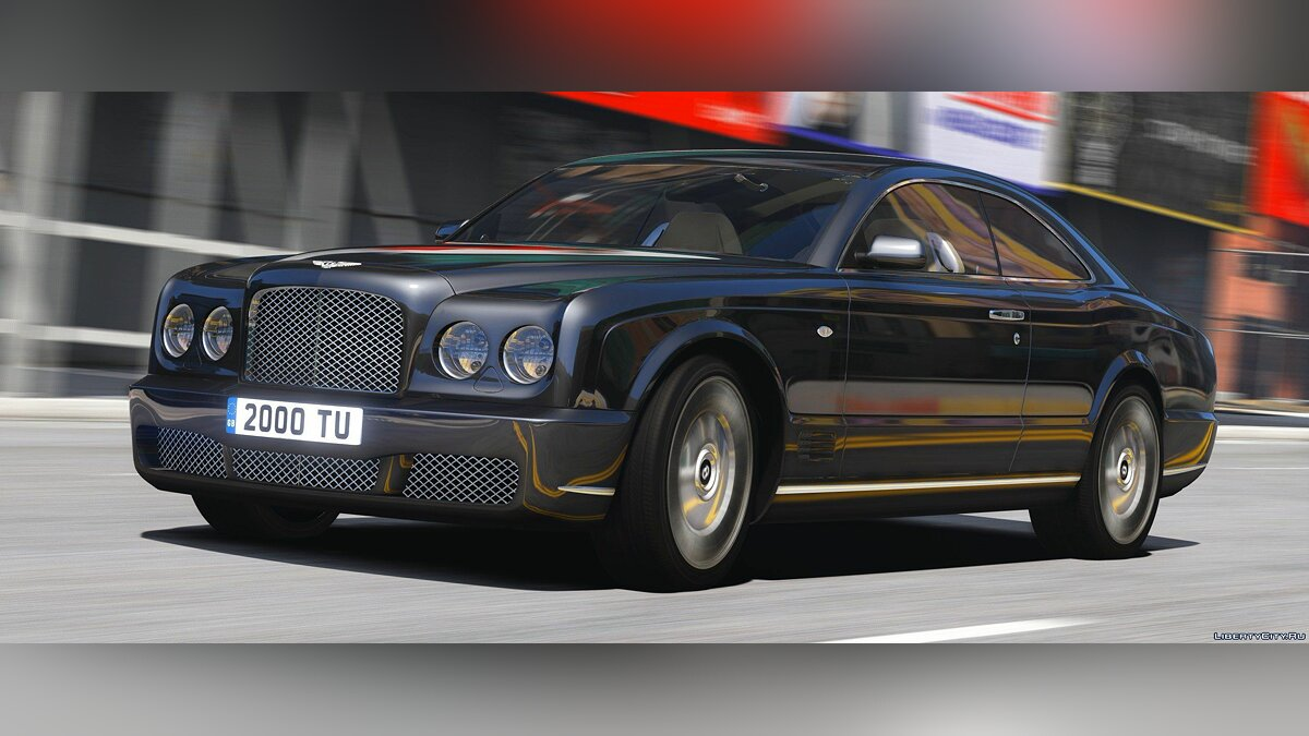 Машина Bentley 2008 Bentley Brooklands [Add-On | RHD] 1.0 для GTA 5