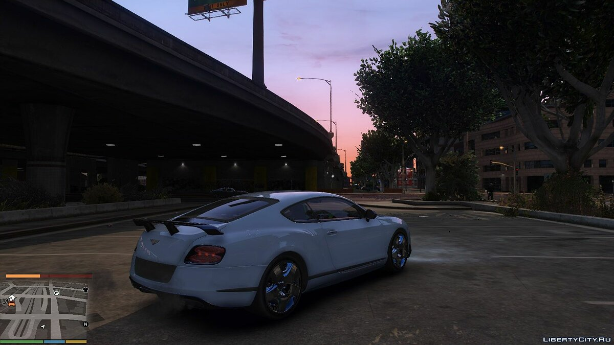 Машина Bentley Bentley Continental GT3-R 2015 [1.0] для GTA 5