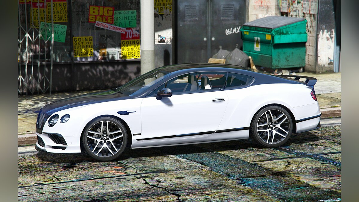 Bentley Supersport 2017 1.0 [Replace/Addon] 1.0 для GTA 5