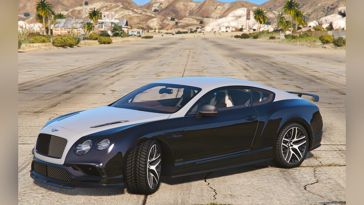Bentley Supersport 2017 1.0 [Replace/Addon] 1.0 для GTA 5 - скриншот #10
