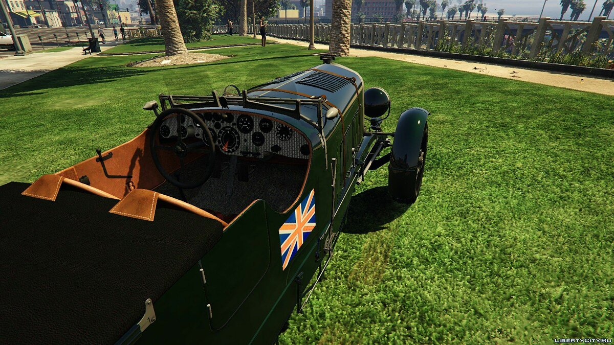 Машина Bentley 1930 Bentley 4½ Litre Blower [Replace] 1.0 для GTA 5