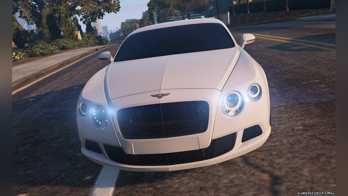 Bentley Continental GT 2012 для GTA 5 - скриншот #6