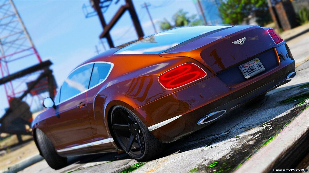 Bentley Continental GT 2012 для GTA 5 - скриншот #5