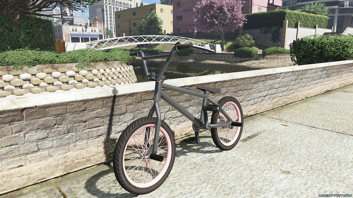 Велосипед BMX Custom [ Add-On / Replace ] 1.1 для GTA 5