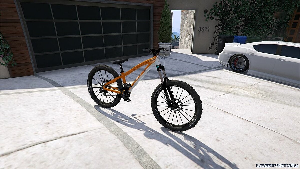 GT LaBomba Mountain Bike для GTA 5 - скриншот #2