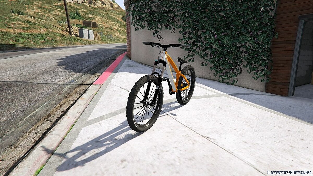 GT LaBomba Mountain Bike для GTA 5 - скриншот #4