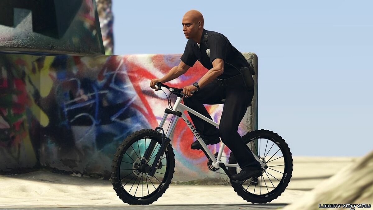 Police Bicycle - Beach Patrol 0.1 для GTA 5