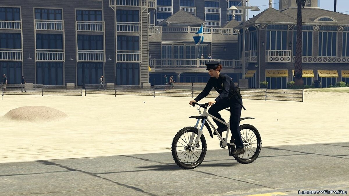 Police Bicycle - Beach Patrol 0.1 для GTA 5 - скриншот #5