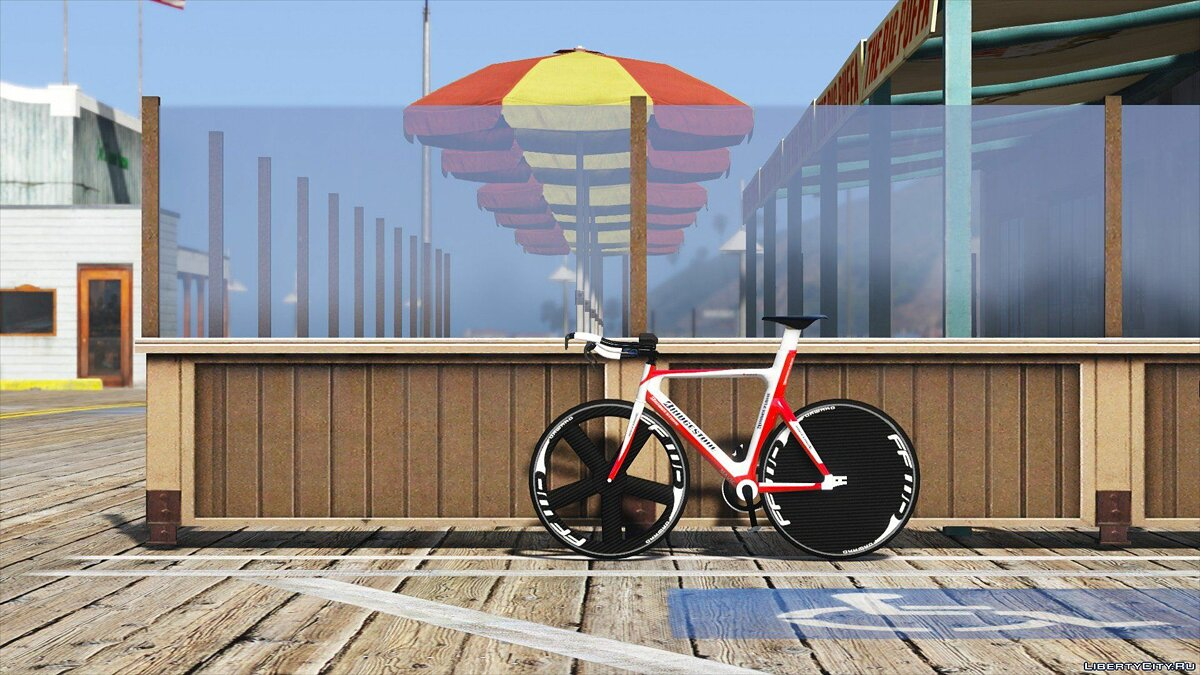 Велосипед Bridgestone Track Bike [Replace] 1.0 для GTA 5