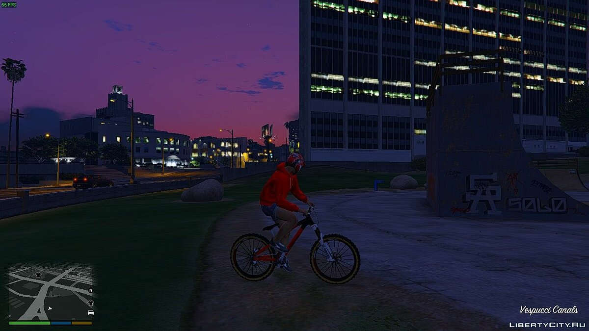 Велосипед NS BIKE SNABB T1 enduro 1.1 для GTA 5