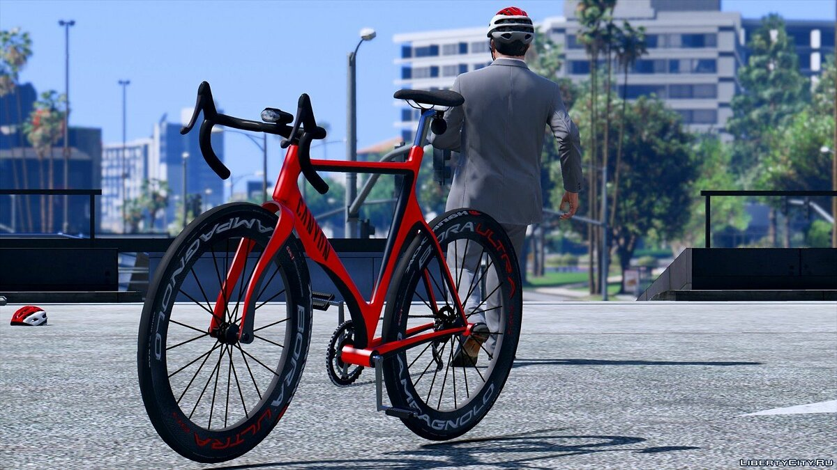 Real Road Bike Pack для GTA 5 - скриншот #4