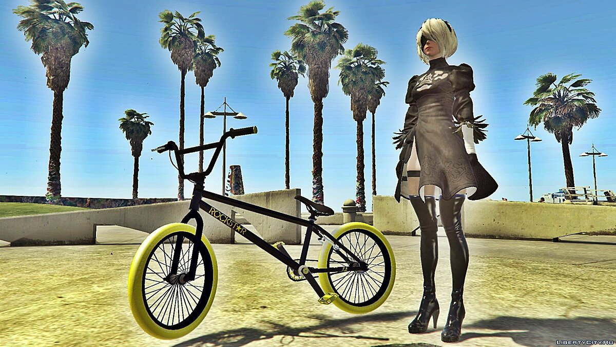 Велосипед Bmx Rockstar Energy [Addon / Replace] 1.0 для GTA 5