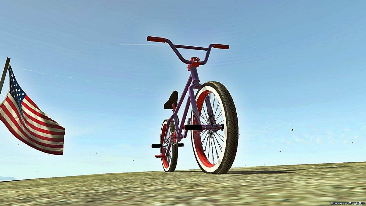 Велосипед Bmx Street With Pegs [ Addon / Replace ] 1.0 для GTA 5