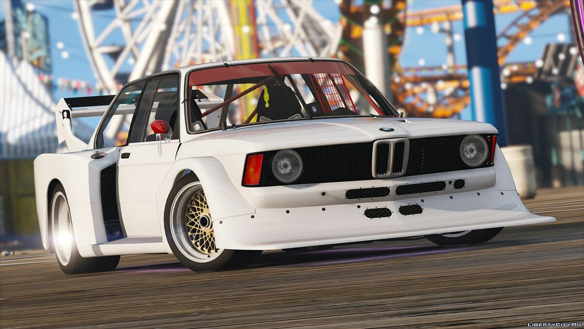 ��ашина BMW BMW 320i Group5 [Add-On / Replace | Animated | HQ] для GTA 5