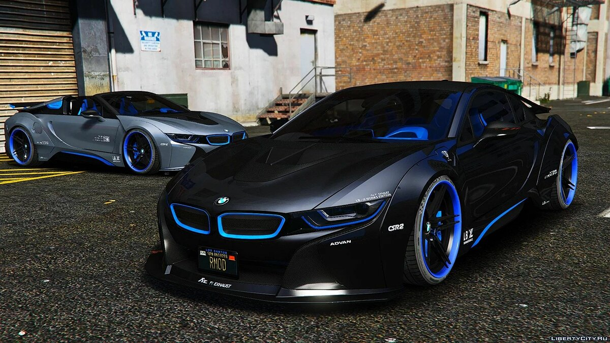 Машина BMW BMW I8M Liberty Walk 1.0 для GTA 5
