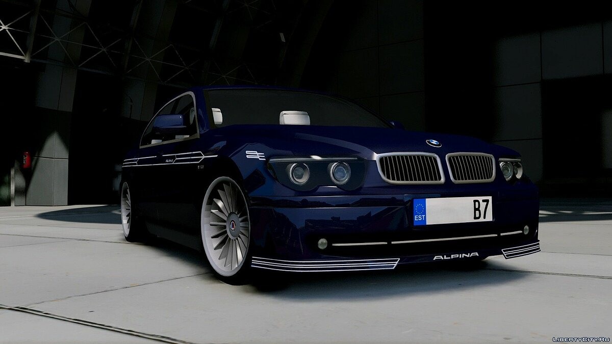 2004 BMW Alpina B7 (E65 Pre-Facelift) [Add-On/Replace/Extras] 2.0 для GTA 5