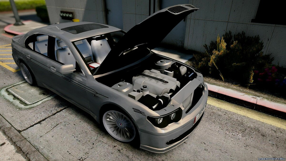 2004 BMW Alpina B7 (E65 Pre-Facelift) [Add-On/Replace/Extras] 2.0 для GTA 5 - скриншот #4